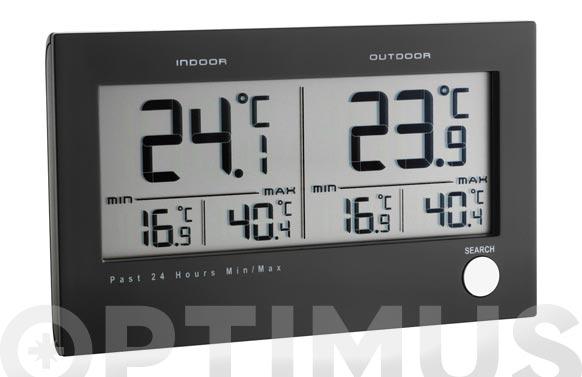 Termometro digital con sensor t 30.3048 negro