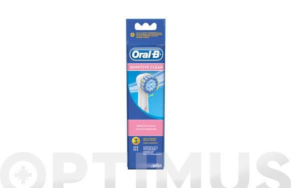 Cepillo dental recambio oral-b sensi ultrathin