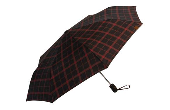 Paraguas plegable señor automatico cuadros