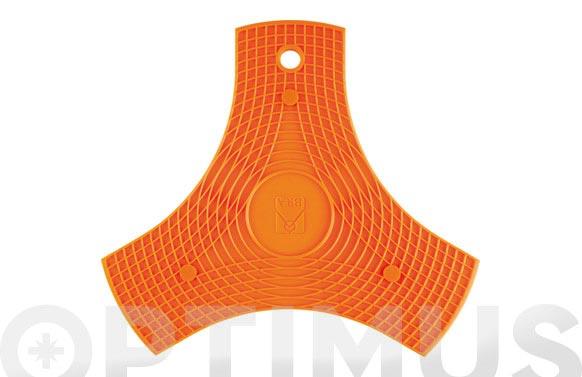 Protector-salavamantel silicona naranja 2 unidades