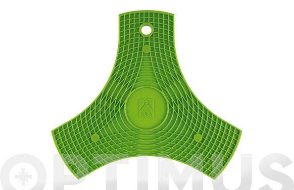 Protector-salavamantel silicona safe verde