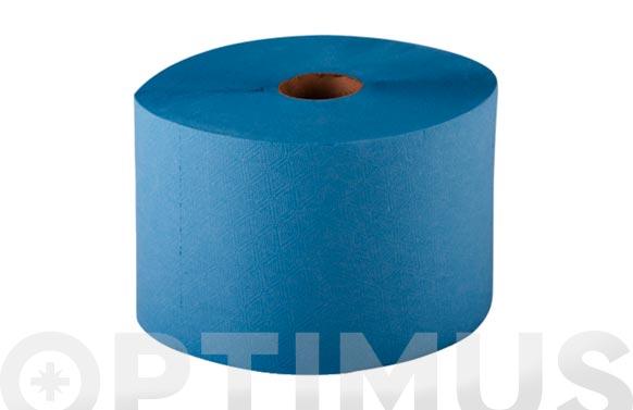 Papel celulosa industrial azul 3 capas 285 m
