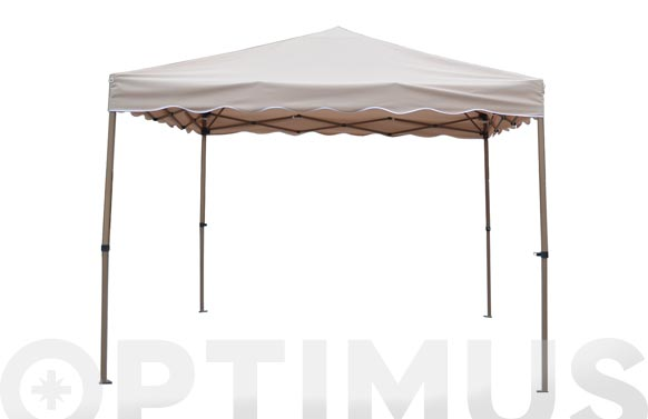 Carpa plegable aluminio 3x3 profesional arena