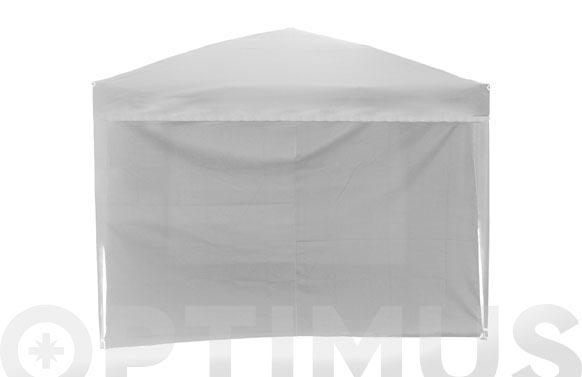 Cortina sin ventana carpa plegable 9675203 blanco