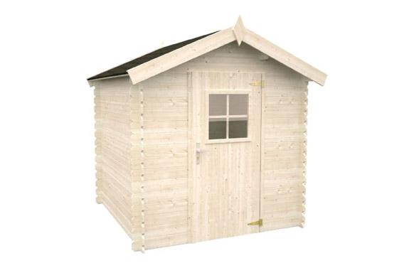 Caseta madera patricio 189x189x217 cm