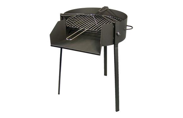 Barbacoa carbon - leña - paellero ø 50 x 75 cm