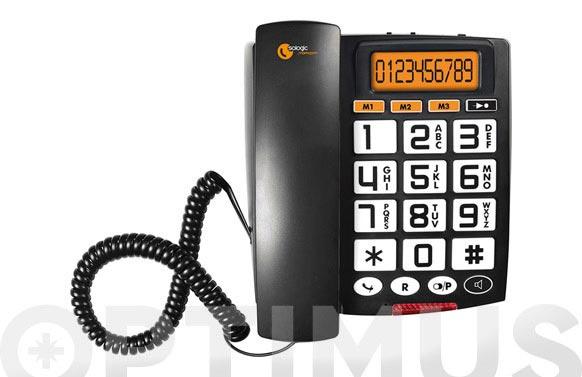 Telefono teclas grandes display a801
