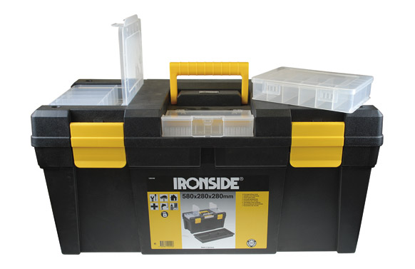 "Caja herramientas abs negro ""tool box l"" 580 x 280 x 280 mm"