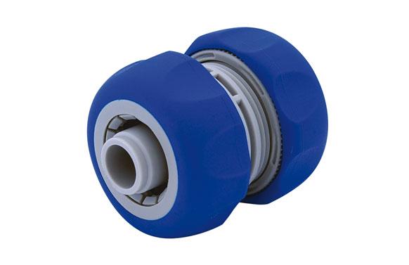Reparador de manguera 15 mm. 1/2   bicomponente: acetal (pom) y caucho