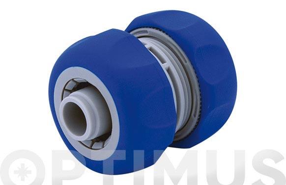 Reparador de manguera 19 mm. 3/4 bicomponente: acetal (pom) y caucho