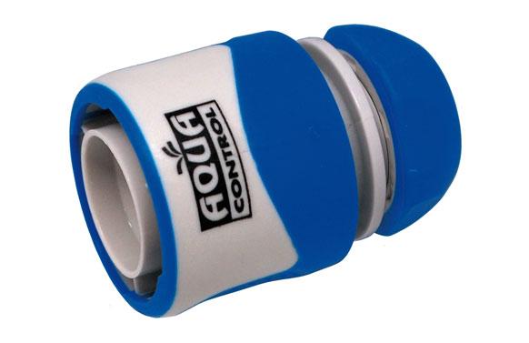 Enlace rapido para manguera helicoidal 10 mm. bicomponente: acetal (pom) y caucho
