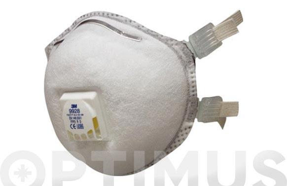 Mascarilla proteccion ffp2 9928 soldadura moldeada r