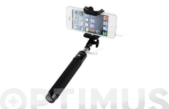 Palo mini extensible selfie automatico 20,5-90cm negro