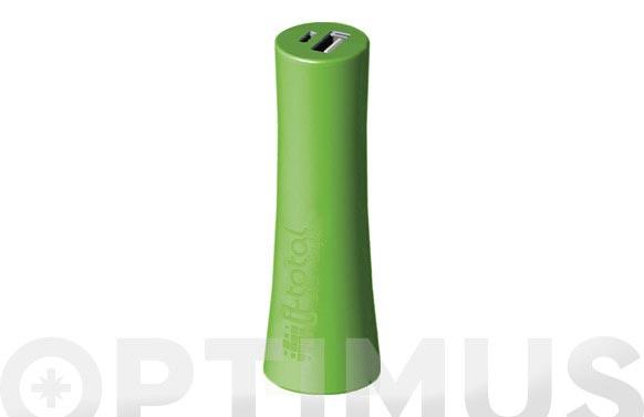 Bateria movil emergencia colors verde