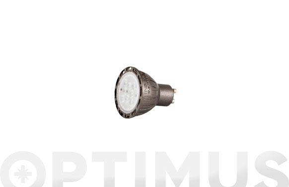 Led dicroica regulable 500lm gu10 7w luz calida (3000k)