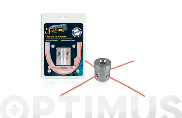 Cabezal universal aluminio desbrozadoras 4hilos