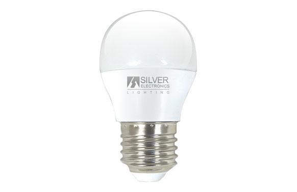 Bombilla led esférica mini 6w e27 luz cálida