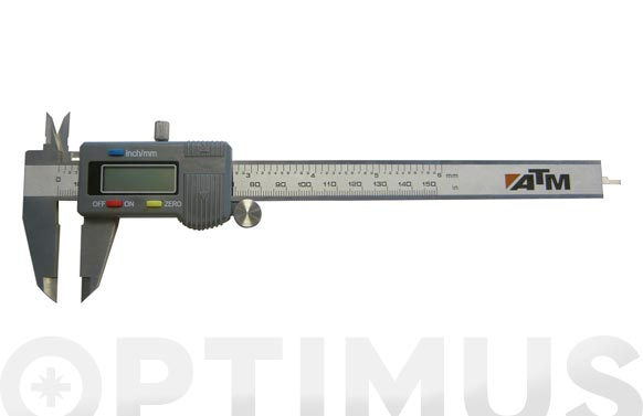 Pie de rey digital inox 150 mm