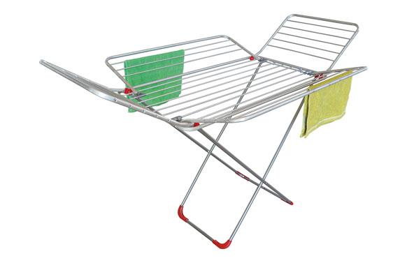 Tendedero 4 alas aluminio mariposa-100x171x111