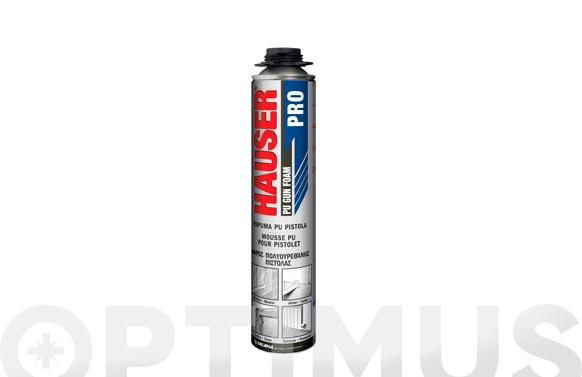 Espuma poliuretano rendimiento pistola 750 ml