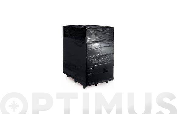 Film extensible manual negro 23 micras 50 cm 2,2 kg