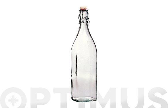 Botella cuadrada swing 1 l