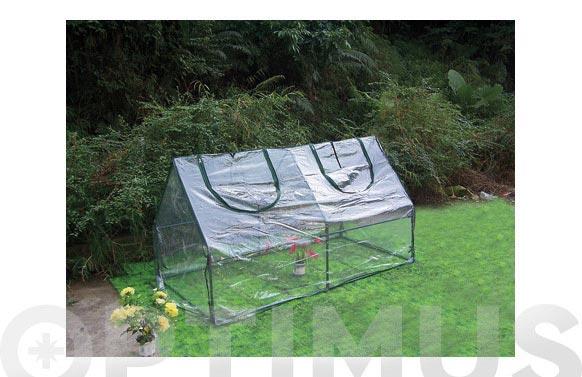 Mini invernadero pvc 90 x 180 x h 90cm