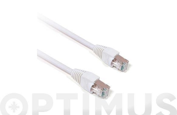 Conexion ethernet rj45/rj45 cat6 10m cu-blanco
