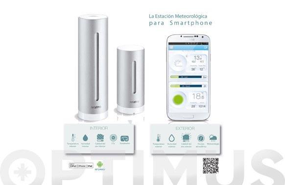 Estacion meteorologica smartphone