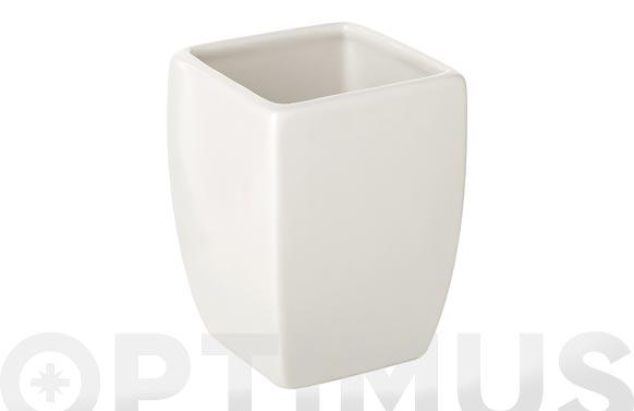 Vaso thai blanco