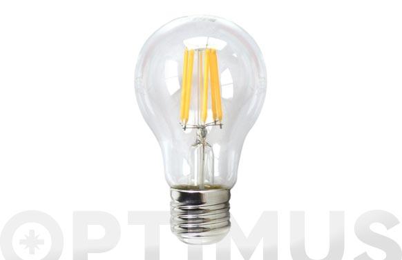 Bombilla led filamento standard 640lm 6w e27 luz blanca (5000k)