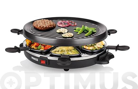 Raclette grill party 6 personas