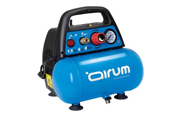 Compresor sin aceite new vento ol 195-1,5 hp-6l