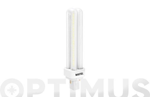 Lampara led plc g24 9w luz blanca