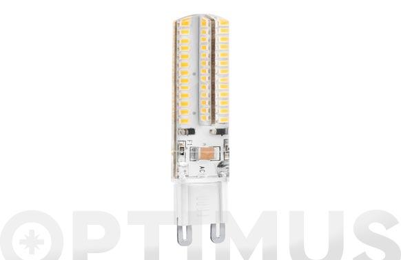 Lampara silicona led bipin g9 5w luz calida
