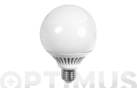 Lampara globo led g120 1300lm e27 15w luz calida