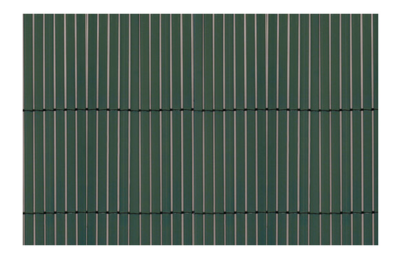 Cañizo sintetico caña fina y entera verde 1,0 x 5 m