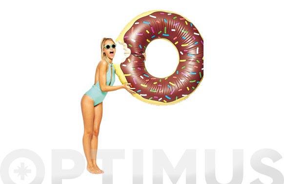 Flotador - colchoneta donut choco ø 122 cm