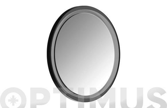 Espejo baño con ventosa cromado aumento x5 ø 14.5 cm