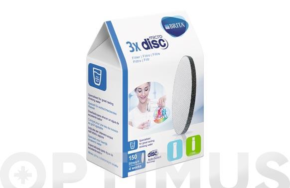 Micro disco filtrante (3 un) fill&go/serve