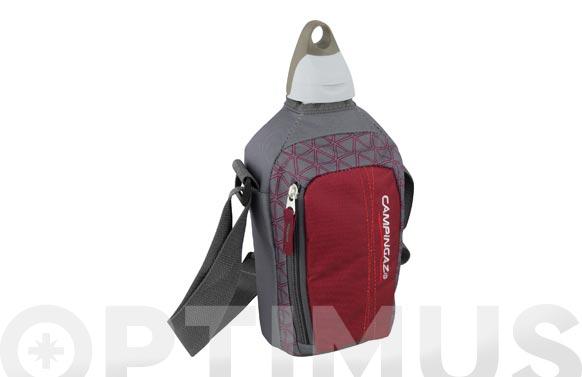 Cantimplora flex picnic granate/gris 1 l