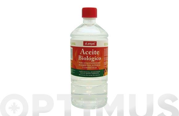 Liquido encendido barbacoa biologico 100. natural 1 litro