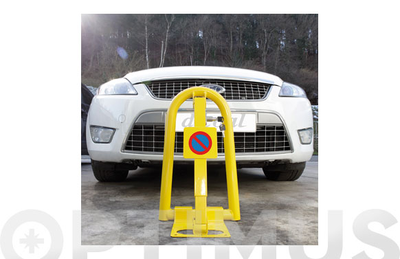 Barrera parking con cerradura 300 x 500 x 270 mm
