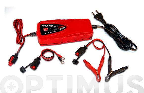 Cargador bateria hf 12 v 7 a