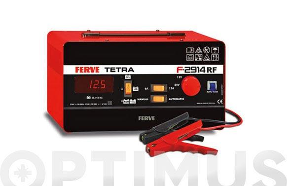 Cargador bateria tetra 12 v/24 v, 6-12 a