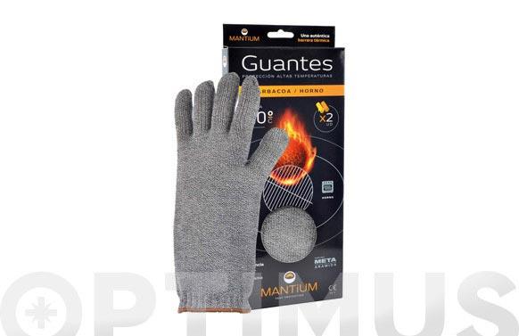Guante proteccion altas temperaturas talla 9