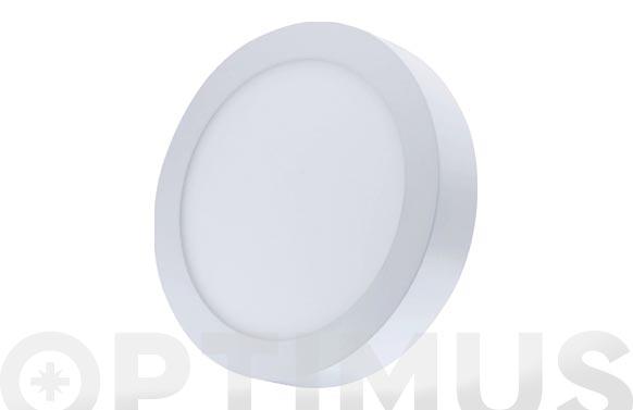 Downlight superficie redondo led 20 w blanco 1600 lm luz blanca (4000k)