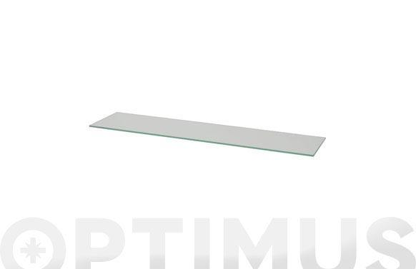 Estante cristal 4xs transparente-0,6x40x15 cm