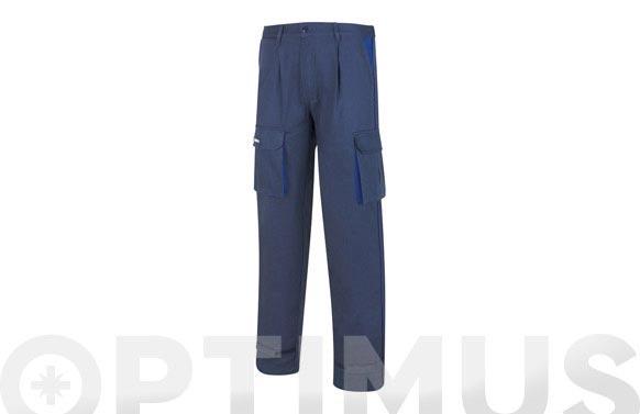 Pantalon algodon 270 gr supertop marino t 44