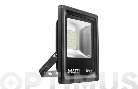 Foco proyector led 10 w 6400k 1000 lm luz fría ip65